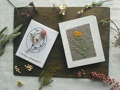 刺繍とワイヤー二人展「植物図鑑」
