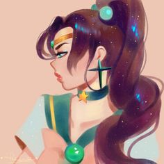 i've been going through all of sailor moon for the first time and! anyway Mako is my Big Favorite and also my gf Jupiter Sailor Moon Jupiter, Sailor Moons, Sailor Moon Villains, Sailor Moon Fan Art, Sailor Pluto, Sailor Venus, Sailor Moon Kristall, Sailor Princess, Sailor Mercury