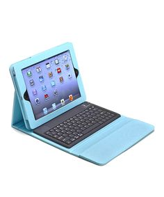 Turquoise Bluetooth Keyboard Folio Case for iPad. Ipad Accessories 7214f44f53