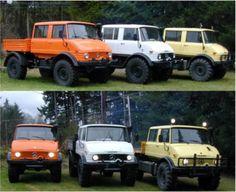 Unimog 416 Doka.....I've always wanted one to go four wheeling with.