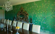 installations - Chinoiserie, Handmade Wallpaper - Fromental