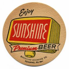 Enjoy Sunshine Premium Beer