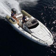Outboard inflatable boat / semi-rigid / center console / sport N ZO 700 ZODIAC