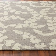 Ginkgo Blossom Hand Hooked Rug