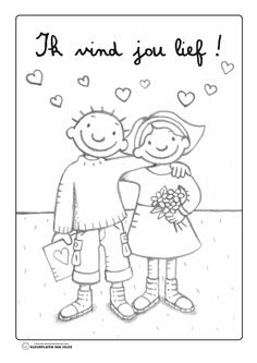 E-mail - Greta Bonny - Outlook Activities For Kids, Crafts For Kids, Valentine Coloring Pages, School Themes, Colouring Pages, Easy Drawings, All You Need Is Love, Valentines, Letters