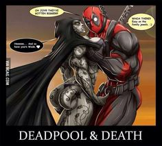 Deadpool & Death - Getting Naughty!