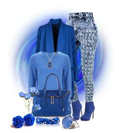 """Am I Blue!!!!"" by forirgirl ❤ liked on Polyvore featuring Ash, Jigsaw, Henri Bendel and Stephen Webster"
