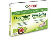 Terveystuotteet - Fructolax Tuplateho 12 kuutiota