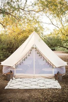 Let's spend a night here! Glamping!