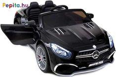 Baby Maxi szuper vagány járgány, amely az Mercedes SL65 AMG autót valósítja meg gyerkőc változatban! Masszív, strapabíró, így használata igen időtálló, továbbá kiváló felszereltséggel rendelkezik mind a kényelem, mind a biztonság tekintetében. A 12V teljesítményű akkumulátor akár 2 órányi száguldozást is lehetővé tesz. Gyerkőcöd egyedül is vezetheti, azonban amennyiben úgy érzed, hogy még segítségre van szüksége, abban az esetben a távirányító segítésével te is irányítani tudod a járgányt… Minion, Vehicles, Car, Products, Automobile, Minions, Autos, Cars, Gadget