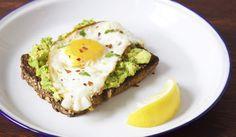Eat Breakfast Like A Model Erin Heatherton's Eggs & Avocado