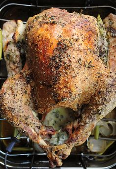 Mayonnaise Roasted Turkey -- sounds a little different but it's so easy and so very moist and it doesn't taste like mayo