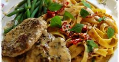 Food And Drink, Pasta, Meat, Chicken, Cubs, Pasta Recipes, Pasta Dishes