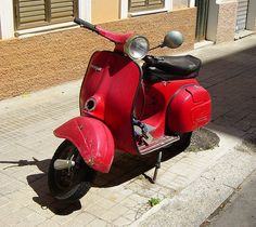 Vespa by alecani, via Flickr