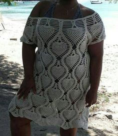Robe de plage au crochet by AuCrochetDIsis on Etsy