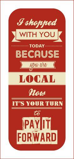 Shop Local Acadiana - Promo Card