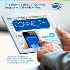 Wingsnetwork - Marketing de Multinível : A segunda edição da revista Ligação já está online...