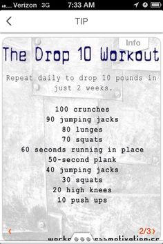 Workouts You Can Try