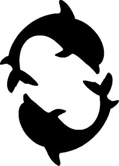 Starfish Stencils List Add a Starfish Stencils Store Dolphin Stencil Japan Dolphins Silhouette Clip Art, Animal Silhouette, Silhouette Portrait, Silhouette Design, Dolphin Silhouette, Stencils, Delphine, Stencil Patterns, Scroll Saw Patterns