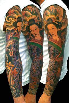braccio geisha e foglie dacero, 2009/2010 (7ore)
