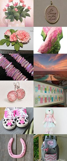 Pink and Pretty by Noah Minafo on Etsy--Pinned+with+TreasuryPin.com