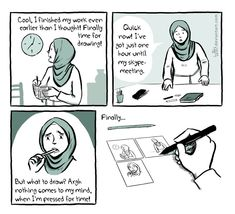 Comic by Soufeina (Tuffix) | [Interview] Soufeina Hamed on how comics can change misconceptions and how she illustrates everyday Muslim life