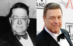 Famous Lookalikes: Branch Rickey - John Goodman (Image of Branch Rickey and John Goodman provided by Getty Images)