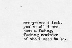something i can never have | Nine Inch Nails........my absolute favorite song by them