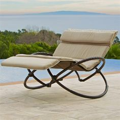 RST Outdoor  Delano Double Orbital Lounger with Cushion Set - #ATGStores