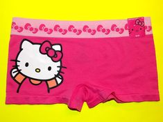 1d78982a7 Details about NWT Sanrio Hello Kitty 'Stars&Hello Kitty' Seamless boyshort  panties S,M,L