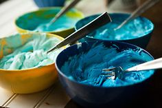 food DIY blue dessert cake ocean yummy yum food porn ombre tutorials cakes gradient ombre cake ocean blue blue cake gradient cake frostings frosting tutorial