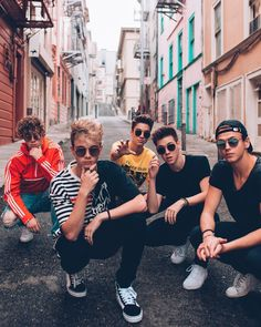 corbyn besson, Jonah marais, Zach Herron, Daniel seavey, Jack Avery why don't we