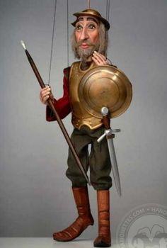 Don Quichote Marionette
