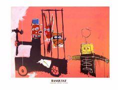 Molasses By Jean-Michel Basquiat   ArtRepublic
