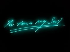 I just love the neon work of English artist, Tracey Emin. I first learned of her work when it was showcased in Times Square at precisely every night. Neon Light Signs, Neon Signs, Wallpapers Tumblr, Desktop Wallpapers, Tracey Emin, Neon Quotes, Neon Led, Neon Words, Light Quotes