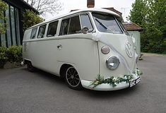 Wedding Car Hire Sittingbourne | The White Van Wedding Company Wedding Car Hire, Wedding Company, Court Weddings, Preston Court, Tiny Camper, White Vans, Civil Ceremony, Photo Booth