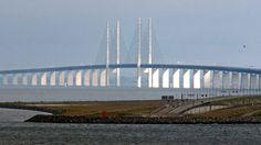 Oresund Bridge. Malmo, Sweden...