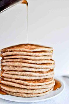 Greek yogurt pancakes #desserts #dessertrecipes #yummy #delicious #food #sweet