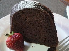 Jamaican Mocha Rum Cake. Photo by Muffin Goddess