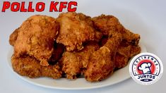 Como hacer Pollo Frito Estilo KFC Pollo Kfc, Pollo Tandoori, Tandoori Chicken, Coleslaw, Carne, Meat, Ethnic Recipes, Youtube, Food
