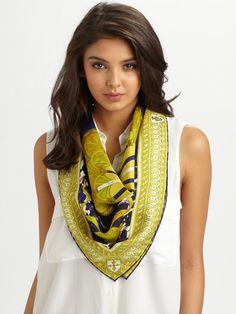 Emilio Pucci silk scarf
