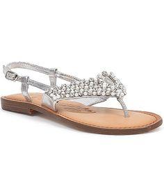 74ac3f52d09832 Naughty Monkey Prestine Sandal - Women s Shoes in Silver