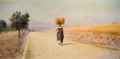 Pasquale Celommi | Four Seasons / Quattro stagioni, 1890-190. 'Summer - Estate, 1901'