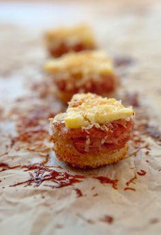 Receta 7: Canapés de jamón y piña » 1080 recetas de cocina, de Simone Ortega