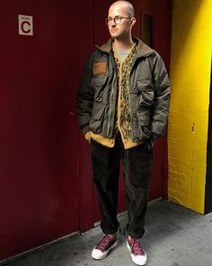 いいね!467件、コメント4件 ― Nepenthes New Yorkさん(@nepenthesny)のInstagramアカウント: 「「STYLING - NEW FW17」 S2W8 - Insulator River Trek Jacket - Khaki Nylon Tussore Needles - Mohair…」
