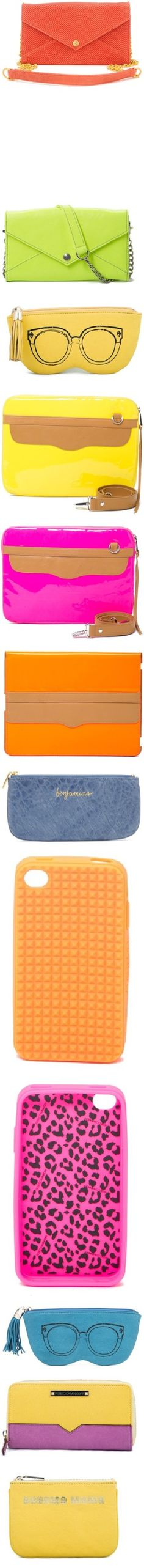 """""""Bright Little Things"""" by rebeccaminkoff ❤ liked on Polyvore"""