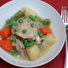Slow Cooker Chicken Stew Recipe on Yummly
