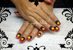 Prescription Nails - Aboriginal Flag