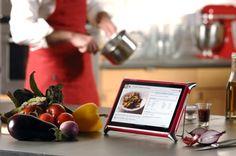 Планшет QOOQ — электронный помощник на кухне