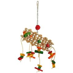 Wood and Rope Parrot Toys for pet birds and Parrots who love to chew, superb choice in stock, so order now for fast delivery to the UK and Europe. Parrot Toys, Bird Toys, Wood Slats, Centre Pieces, Pet Birds, Wind Chimes, Wings, Parrots, Beads